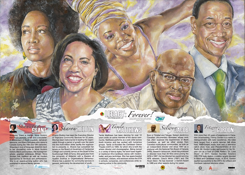 Picture taken from ETFO Magazine on    Teaching Black Canadian History Every Month