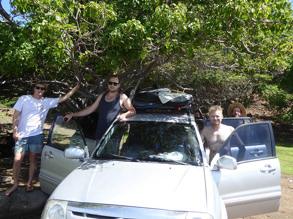 Arrival at Punta Mango