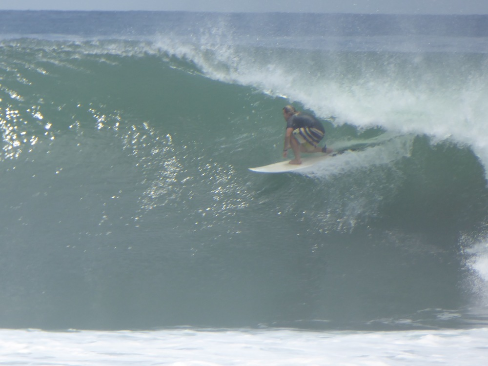 Unknown in the barrel, Punta Roca