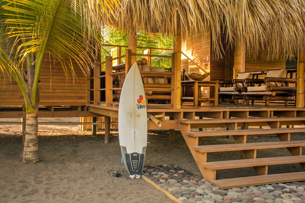 A great spot for surfers with uncrowded waves