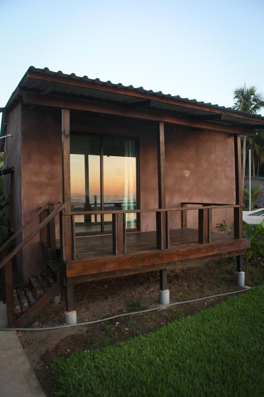 Beachfront accomodation