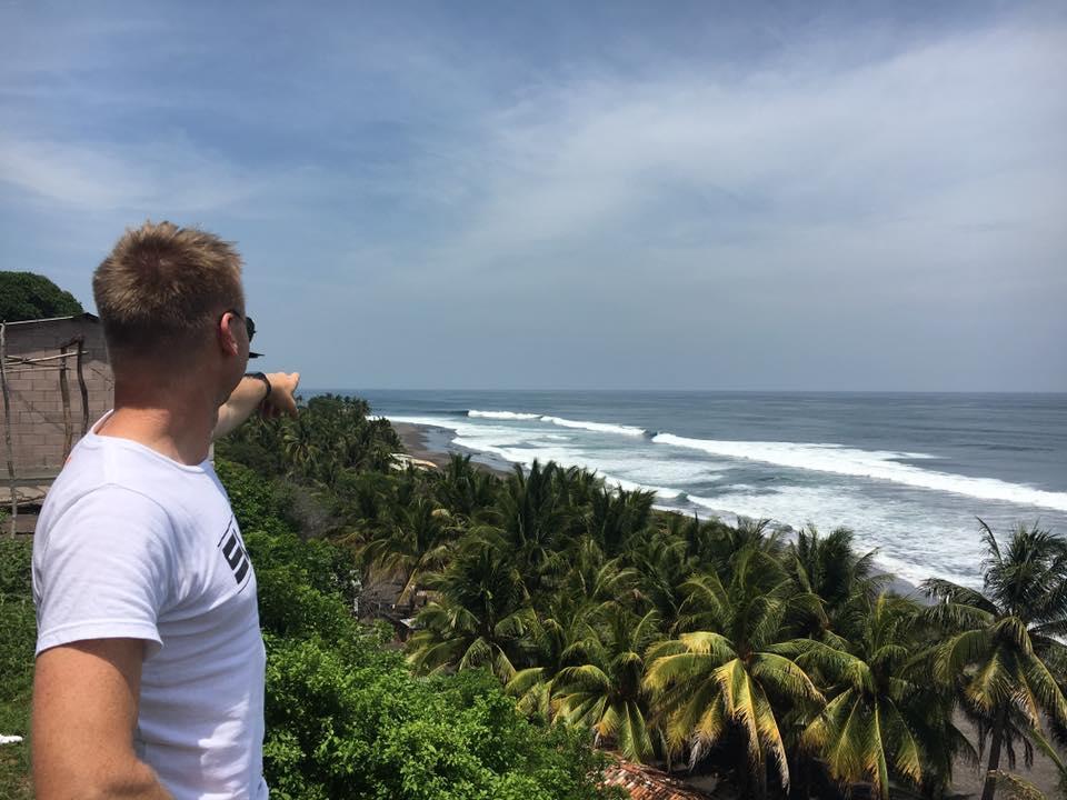 Surf check - Mizata, El Salvador