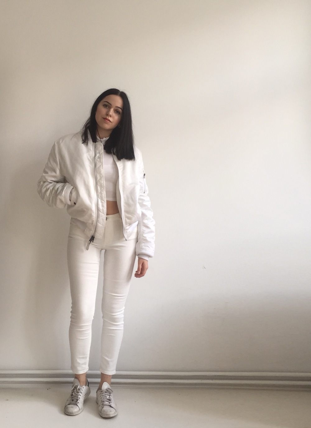 in plain white lately for myself