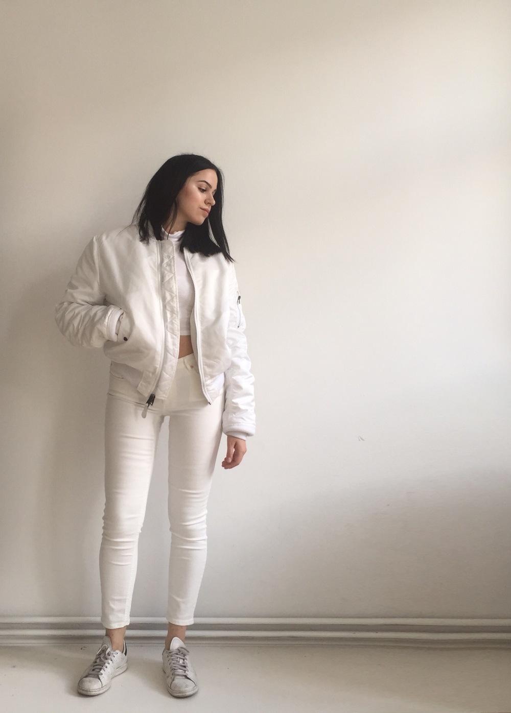 White On White On White Outfits Brendahashtag