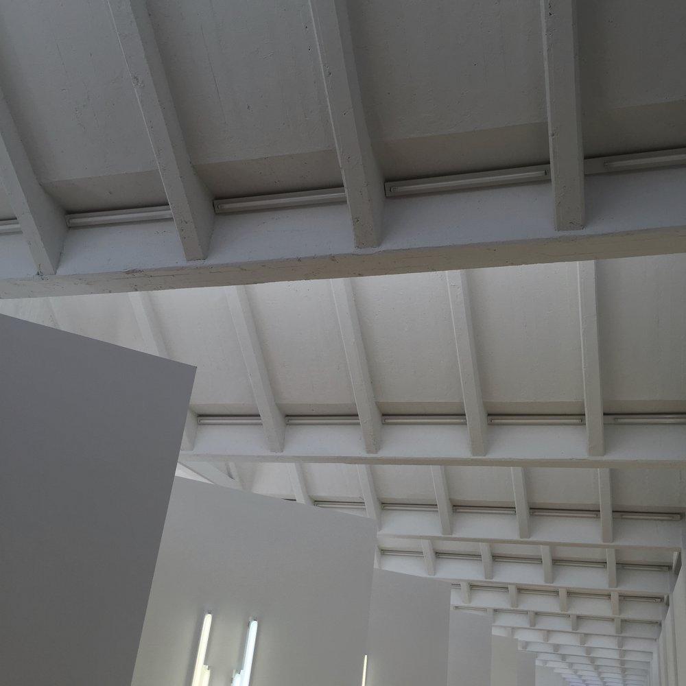 it had pretty ceilings