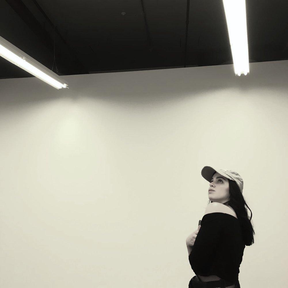 anarosa captured me admiring the ceilings