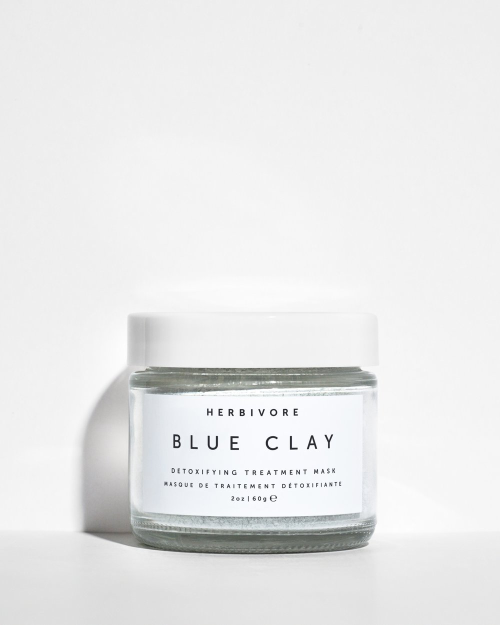 1. - herbivore clay mask. I mix it with a few drops of water and leave it in for a little bit, maybe the length of drinking a soothing jasmine tea.