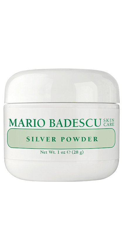 2.  - mario badescu silver powder. I use it once or twice a week, depending on my skin. this one is actually drying so I only use a super thin layer.