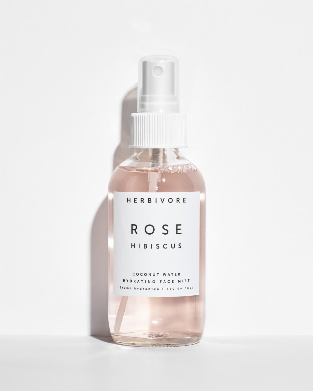 4.  - rose hibiscus hydrating face mist. sounds fancy right? I never really understood the hype about face mists (isn't that just diffused water?) until I tried them. this one is made from coconut water and can be sprayed even with makeup on without destroying it. super refreshing, I use it in the later afternoon or evening when my face gets a bit tired and I'm about to head out.
