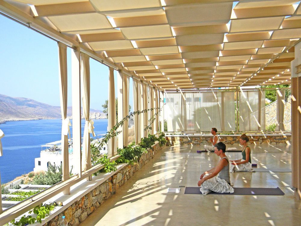 Ananda Yoga Shala - where we'll be practicing on my  Greece retreat!