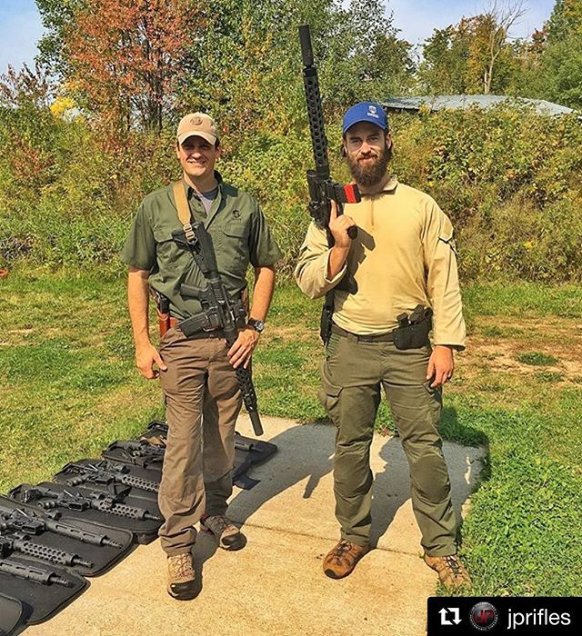 Repost: @jprifles  JP Rifles General Manager Adam joined us for a leo rifle course in northern MN. Do you even #pewpew?