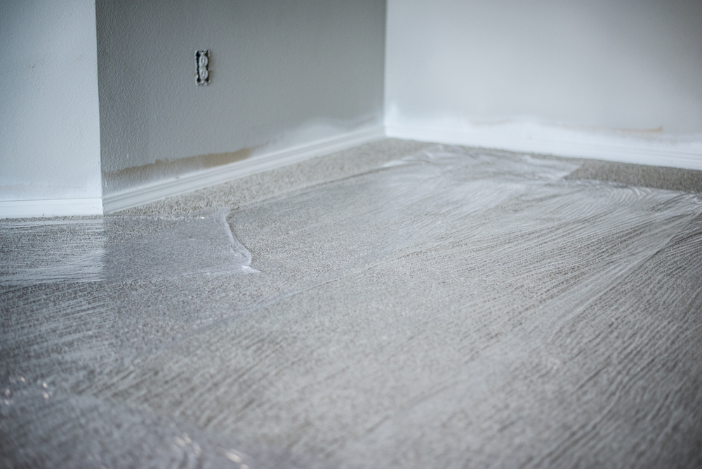 Floor Protection During Rehab