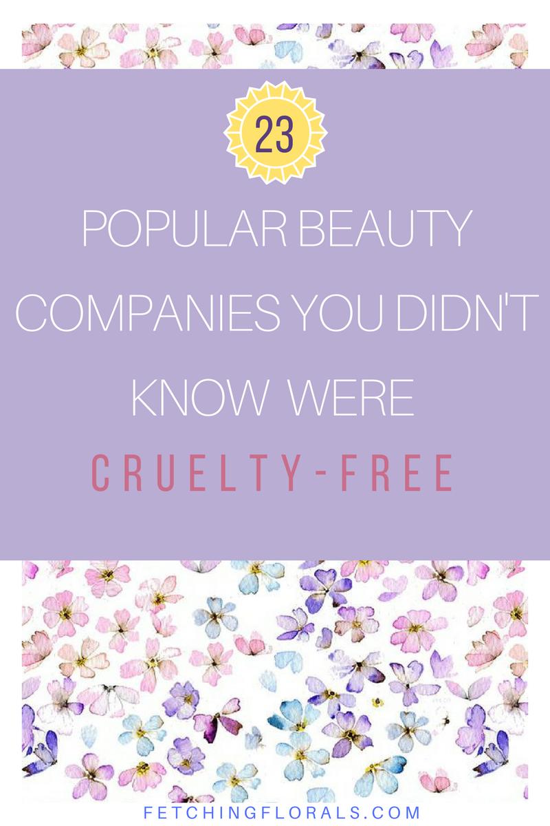 23popularbeautycompaniescrueltyfree