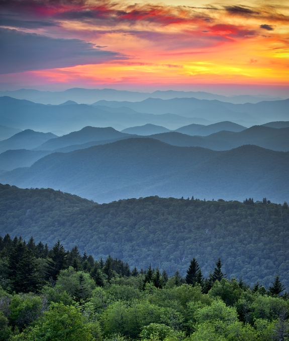 ashevillenorthcarolinamountains