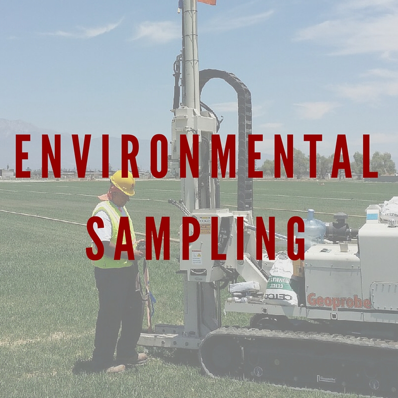 Strongarm Environmental Sampling