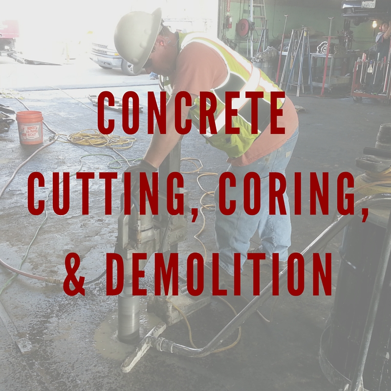 Strongarm Concrete Cutting, Coring, Demolition