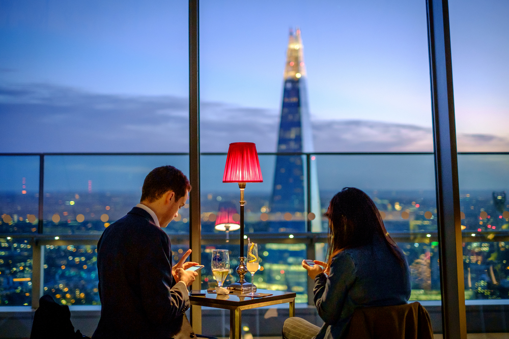 Sky Garden, London, shot at: 35mm f1.4 1/125sec ISO 1250 (FujiFilm 35mm f1.4 R)