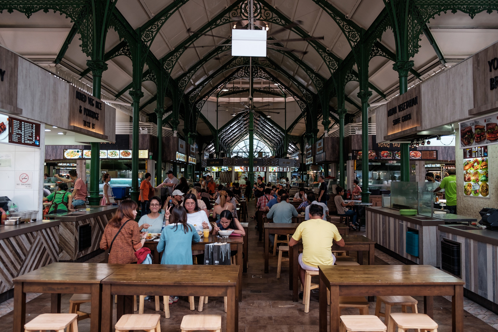Tiong Bahru Market & Food centre