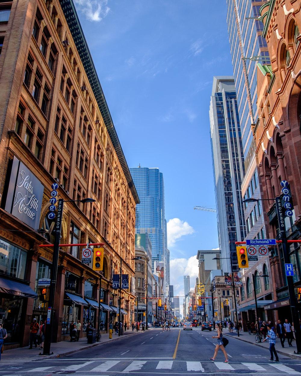 Yonge / Queen Street