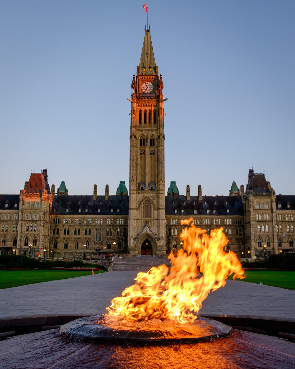 Centennial Fire - Parliament Hill