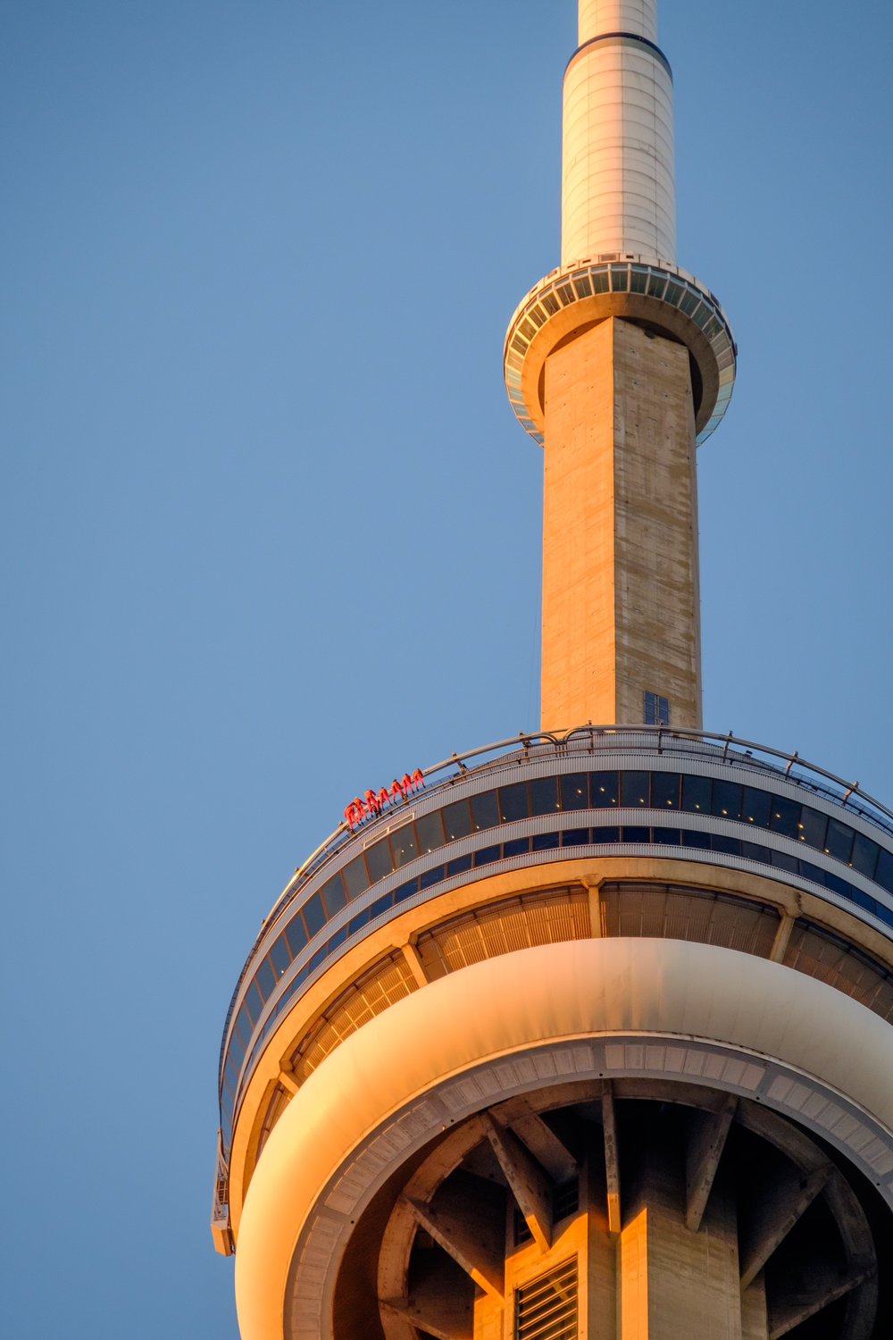 CN Tower close up
