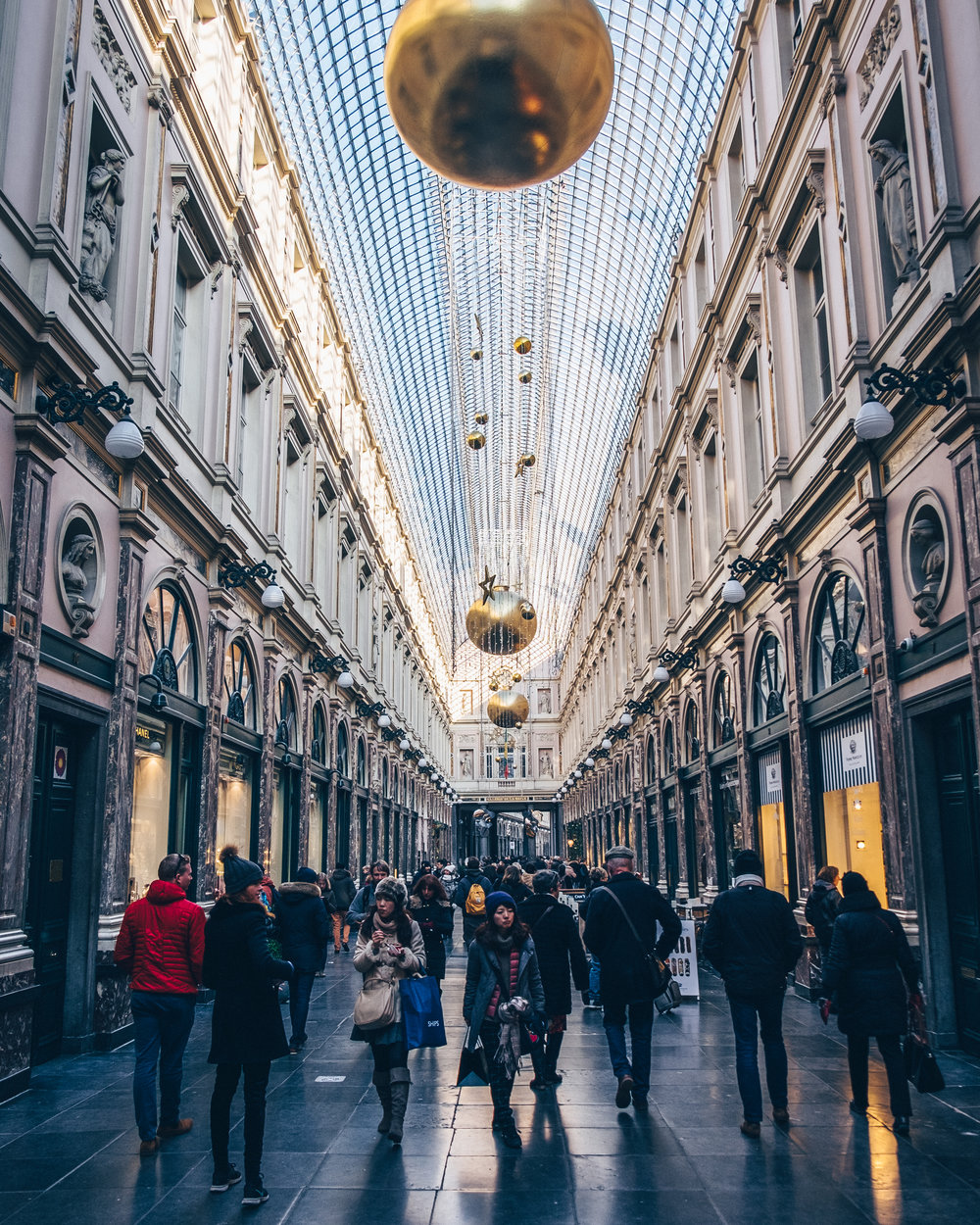 Shopping arcade Brussels