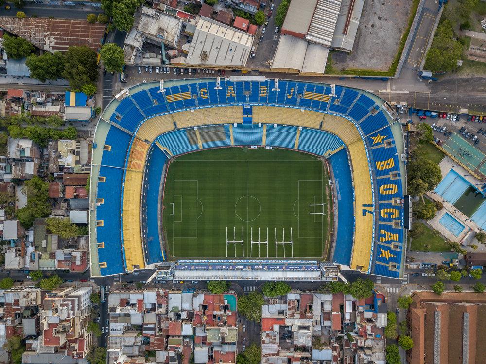 Boca Juniors Stadium, La Bombonera