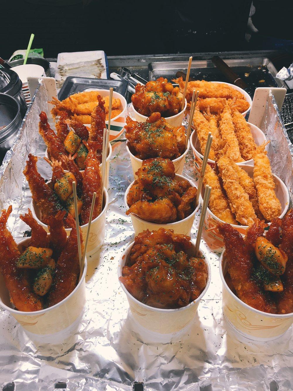 Myeong-dong Street Food