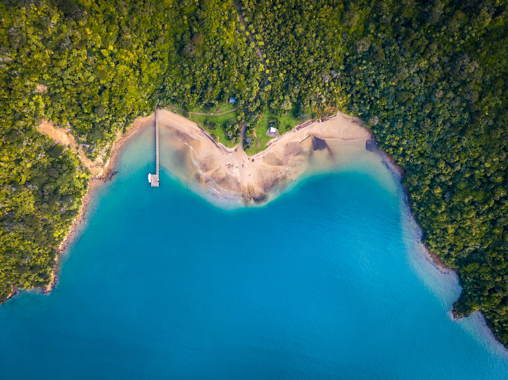 Ship Cove Bay - Marlborough Sounds, New Zealand