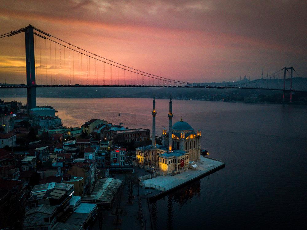 Ortakoy Mosque - Istanbul, Turkey
