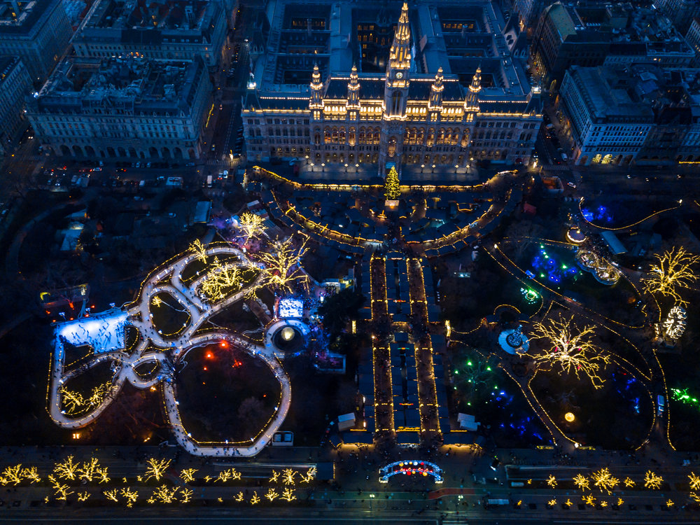 Christmas MArket - Vienna, Austria