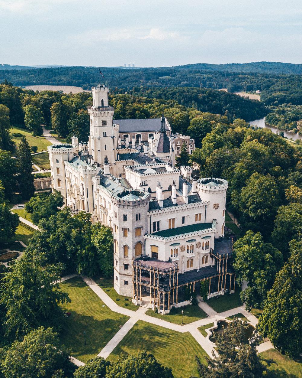 Hluboka Castle - Hluboka nad Vltavou, Czech Republic