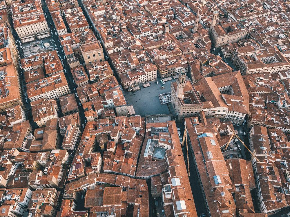 Piazza della Signoria with Palazzo Vecchio