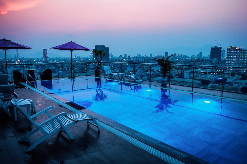 Rooftop Pool - Aria Grand Hotel, Da Nang