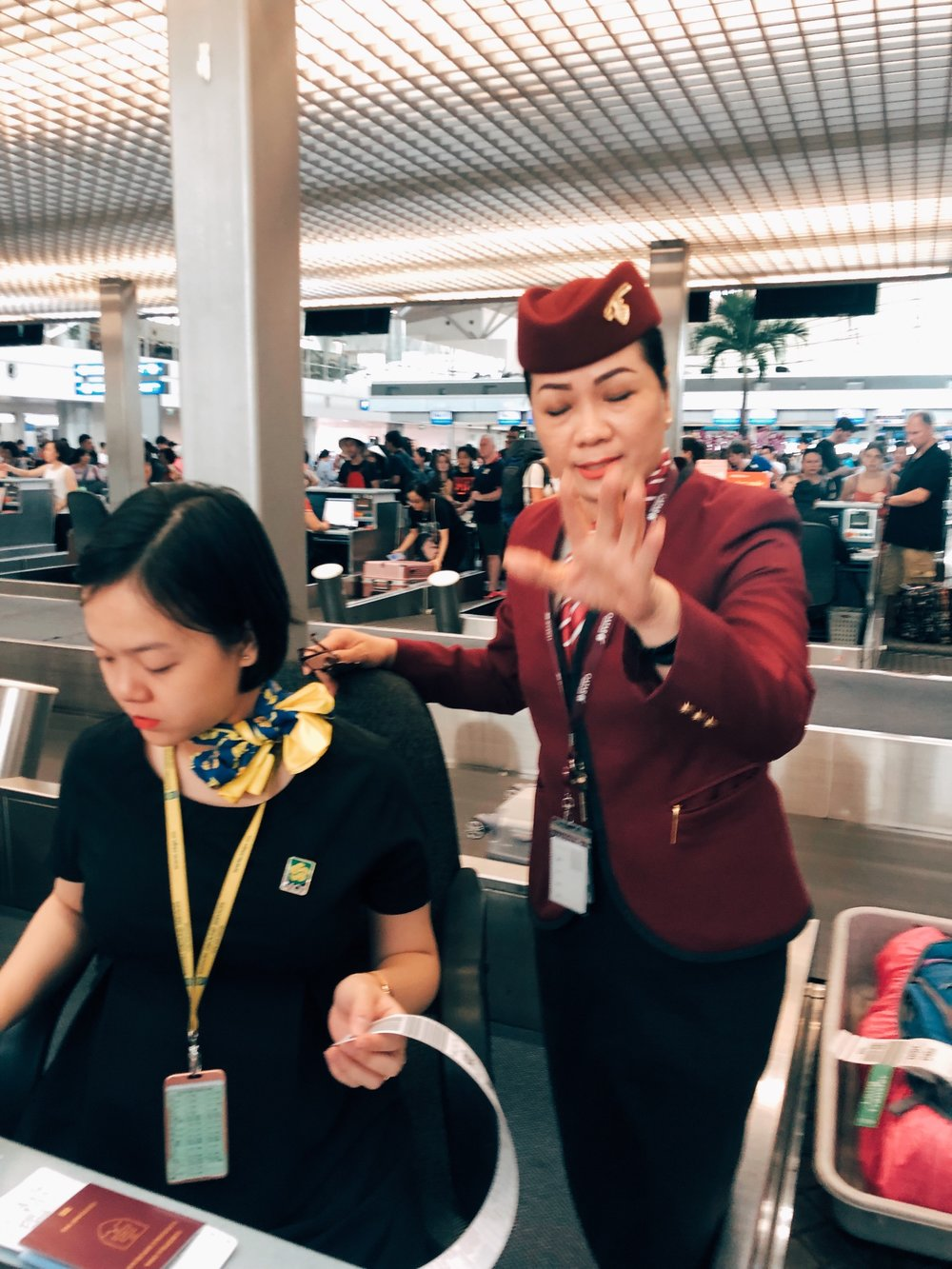 Very bad experience with Qatar Airways representative at Ho Chi Minh City Airport