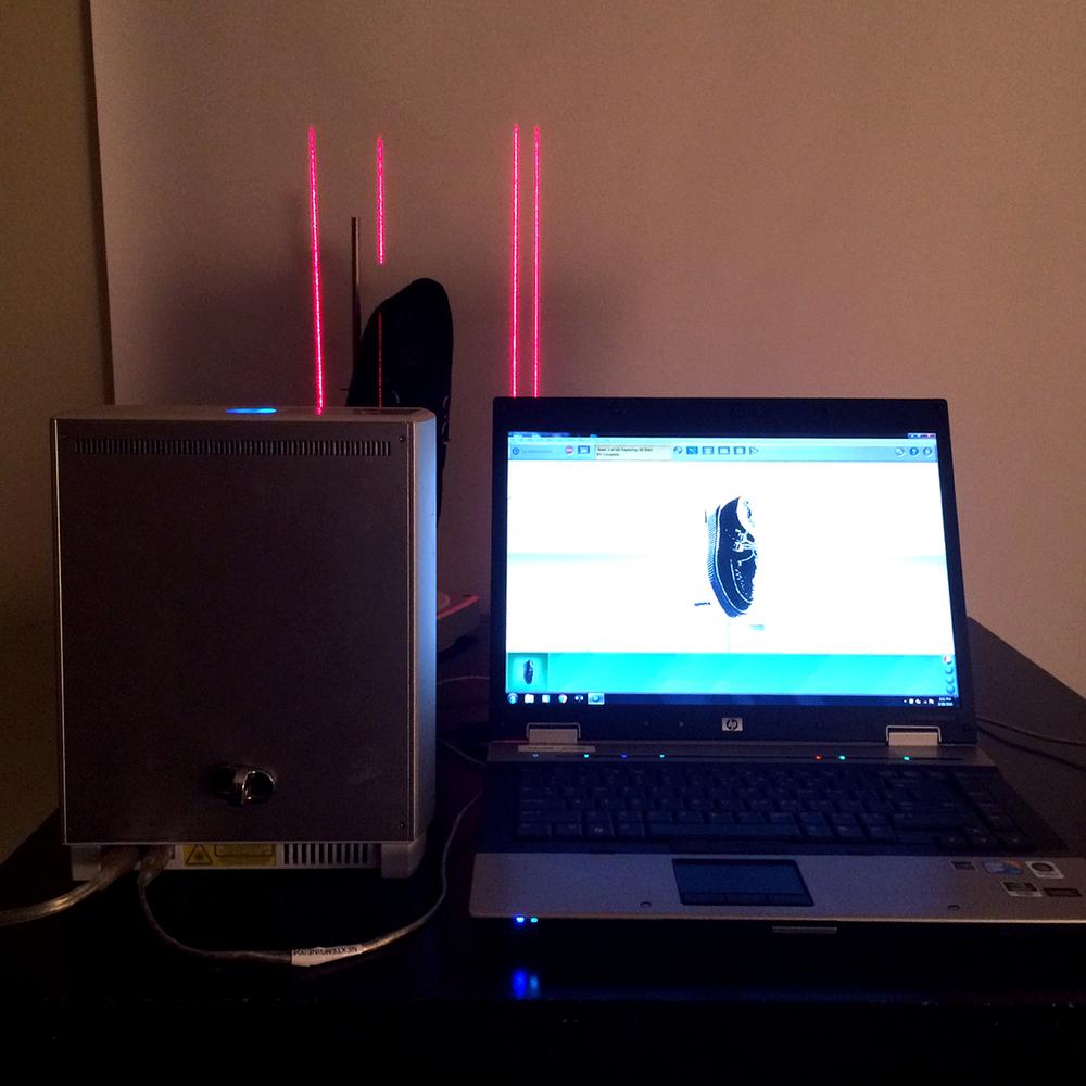 3D Scan - process