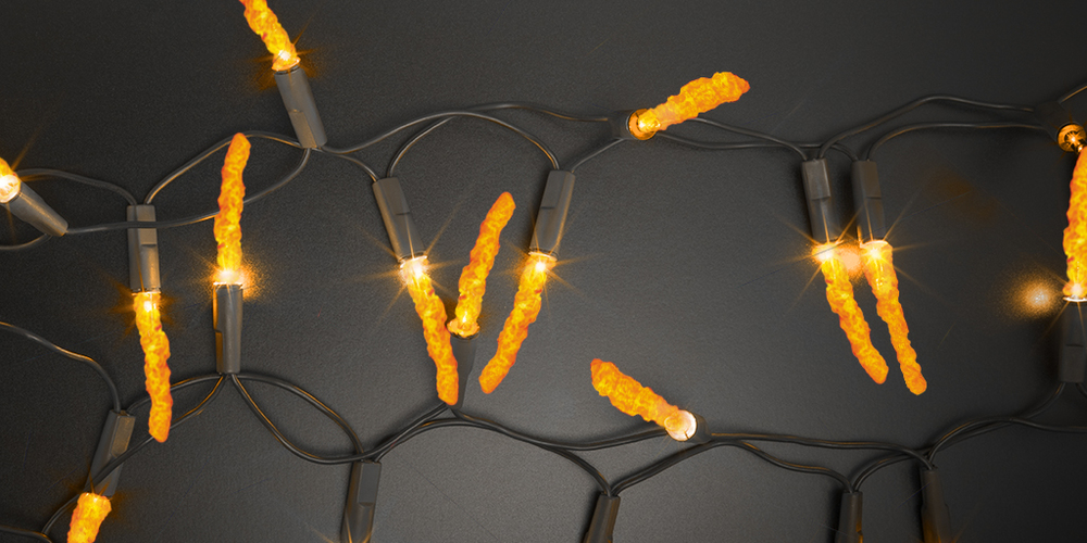 The only thing on my Christmas list this year... #CheetosLights