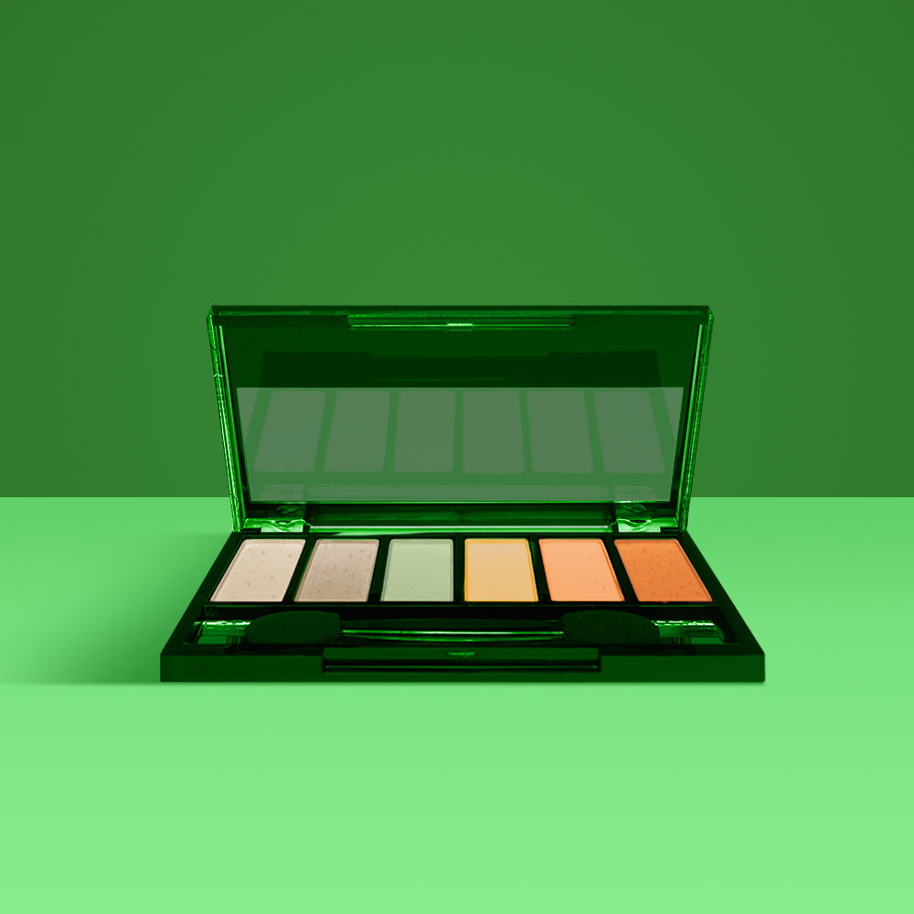 Valley Girl Shade - Look like a tasty treat in our Hidden Valley Ranch inspired eyeshadow palette,Valley Girl Shade. Brighten your eyes and look like a perfectly plated dream in our delicious Bae-con and Uh Huh Honey BBQ shades.