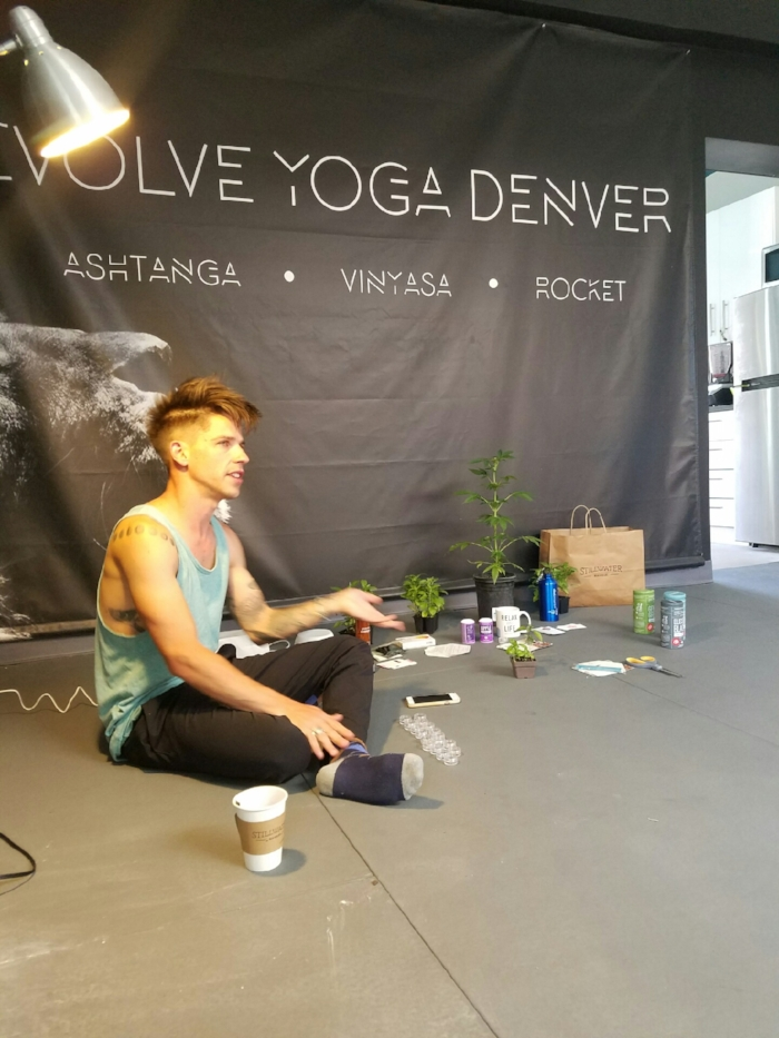 Cannabis Day at Yoga + Plants