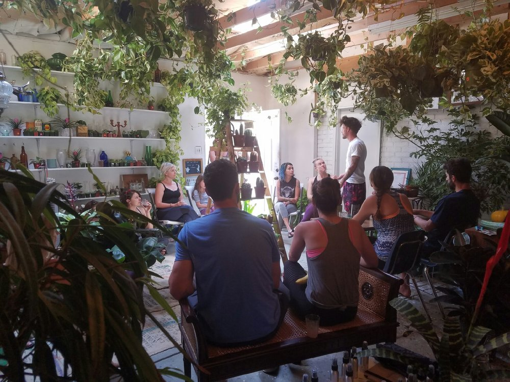 Lavender Day at the Grow Denver for Yoga + Plants