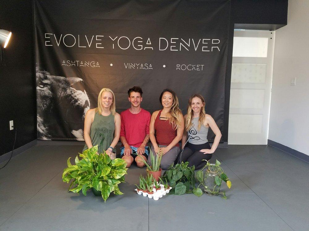 Yoga + Plants