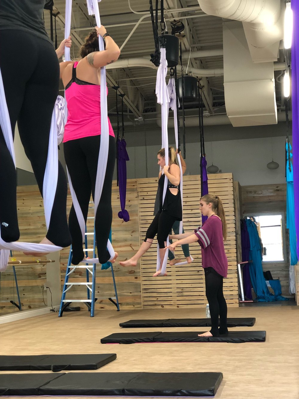 Atherial Fitness - Aerial Yoga - Denver