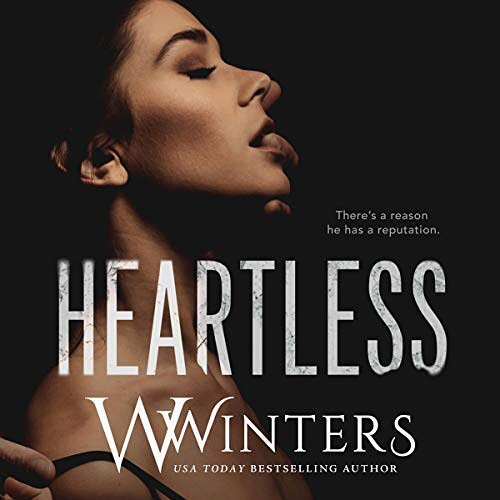 Release day! HEARTLESS by @willowwintersauthor co-narrated with #JacobMorgan is out now on @audible_com! 🖤 #heartless #willowwinters #audible #audiobook #audibleromance
