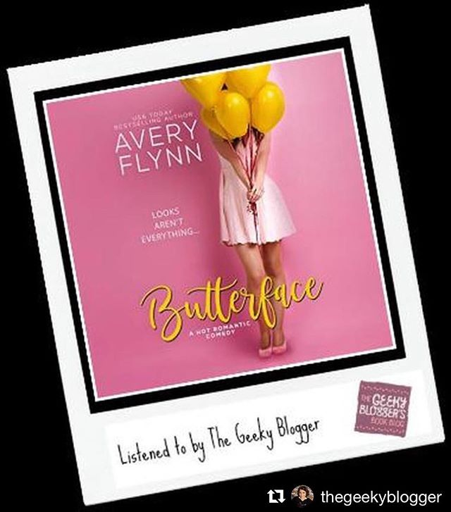 #repost @thegeekyblogger ・・・ Audiobook Review: Butterface by Avery Flynn  Listened for Fun:  Overall this was fun and I am really looking forward to the rest of The Hartigans! Narrated by Brian Pallino and Savannah Peachwood —- NAILED IT!