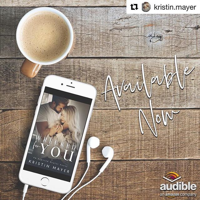 #repost @kristin.mayer ・・・ Wrecked For You is live on Audio!!! Buy Link: https://amzn.to/2EJcSZ9  My life was set.  In five months I would be engaged to a man I didn't love.  In fifteen months I would marry someone who didn't love me.  It was a carefully calculated script thought out by those who had the most to gain. The same people who thought happiness came from money.  Everything was going according to plan until I met Hayden  Foster. Now, I have to find a way to escape this life - my prison.  The Exposed Hearts Series are all standalone novels within an interconnected series. Below is the suggested listening order for the full experience.  @savannahpeachwood @audible_com  Intoxicated by You is Drake Foster's story. (Available Now) --  https://amzn.to/2CB8sAV