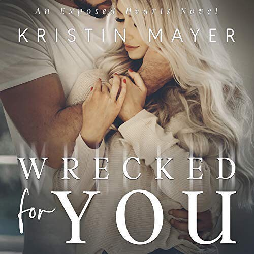 The audiobook of WRECKED FOR YOU, Book 2 in the Exposed Hearts Series by @kristin.mayer co-narrated with #TeddyHamilton releases today on @audible_com! #wreckedforyou #kristinmayer #audible #audiblestudios #audiobook #narrator #exposedhearts