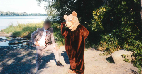 Me as a bear.