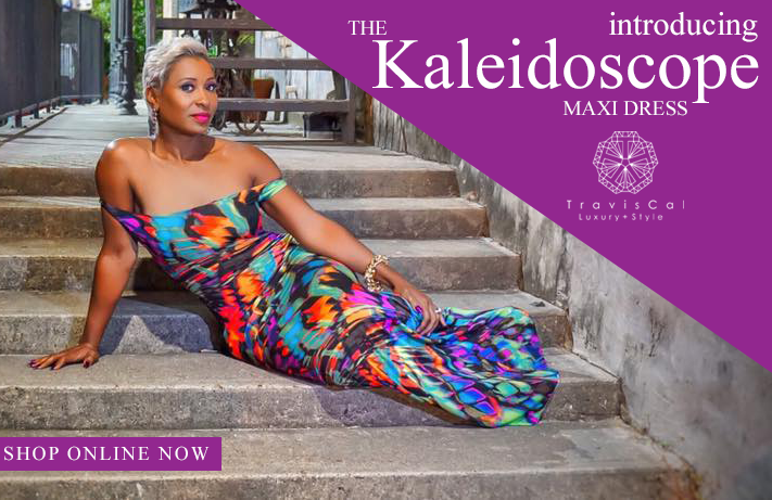 The Kaleidoscope Maxi Dress, $128