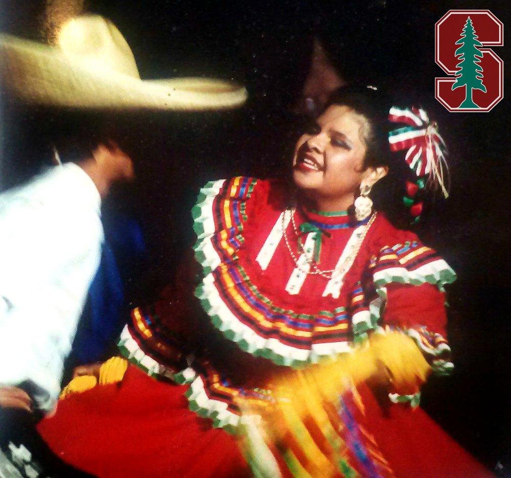 Anita Ballet Folklorico Stanford 1987.jpg