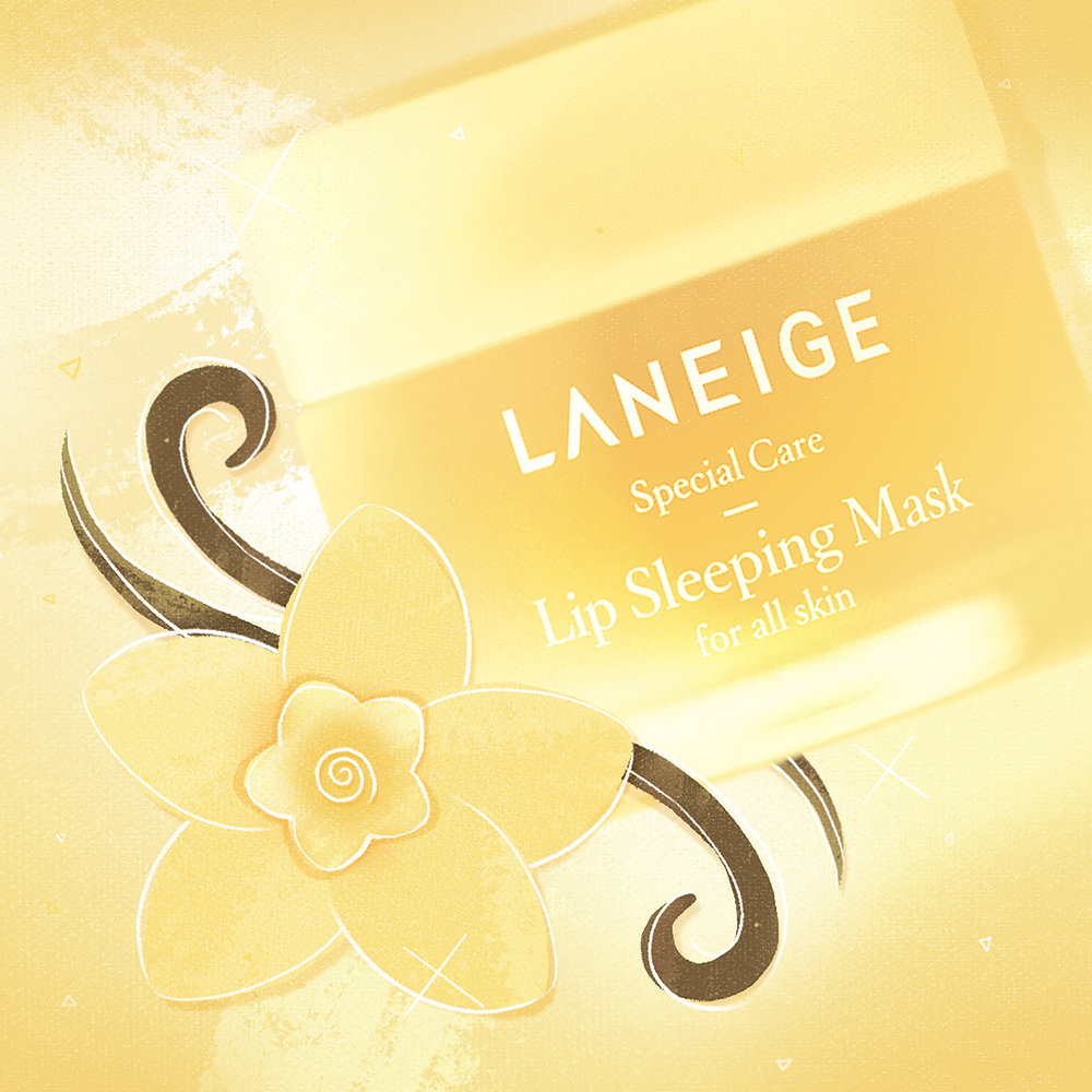 AmorePacific - Laneige Social Media ROUND 2 - Fruit Story Vanilla Illustration V.03.jpg.jpg